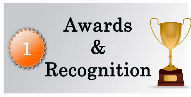 Awards and Recognitions